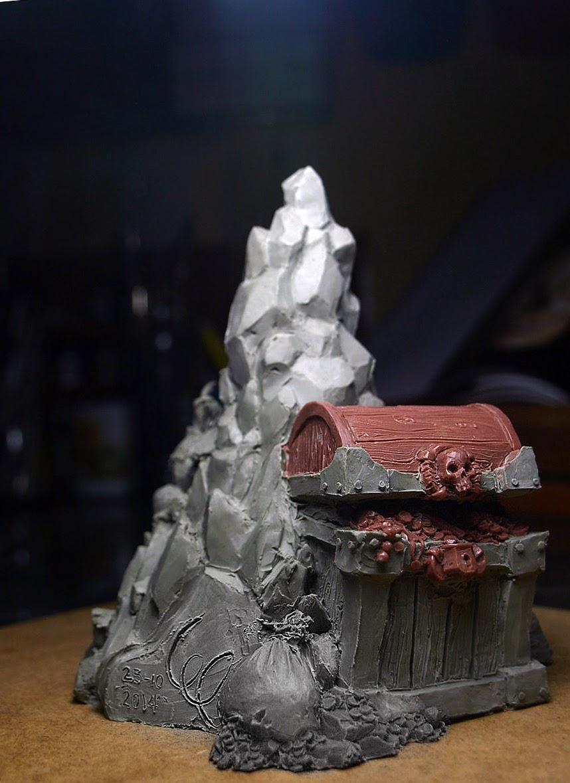 Poisonauta's sculpts- Gangster bust (First thread)
