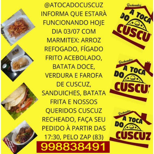 A TOCA DO CUSCUZ