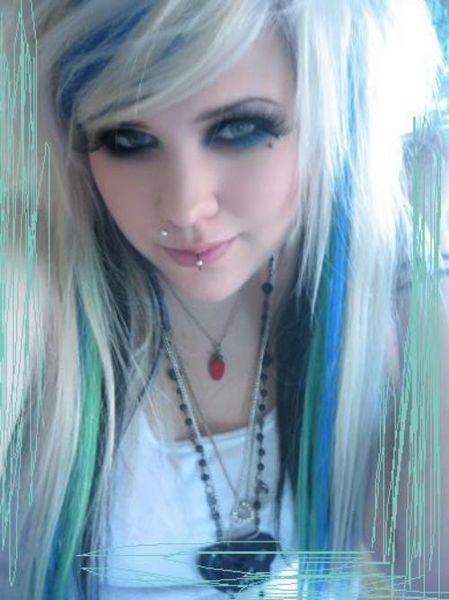 emo hair color pictures. bedroom colors