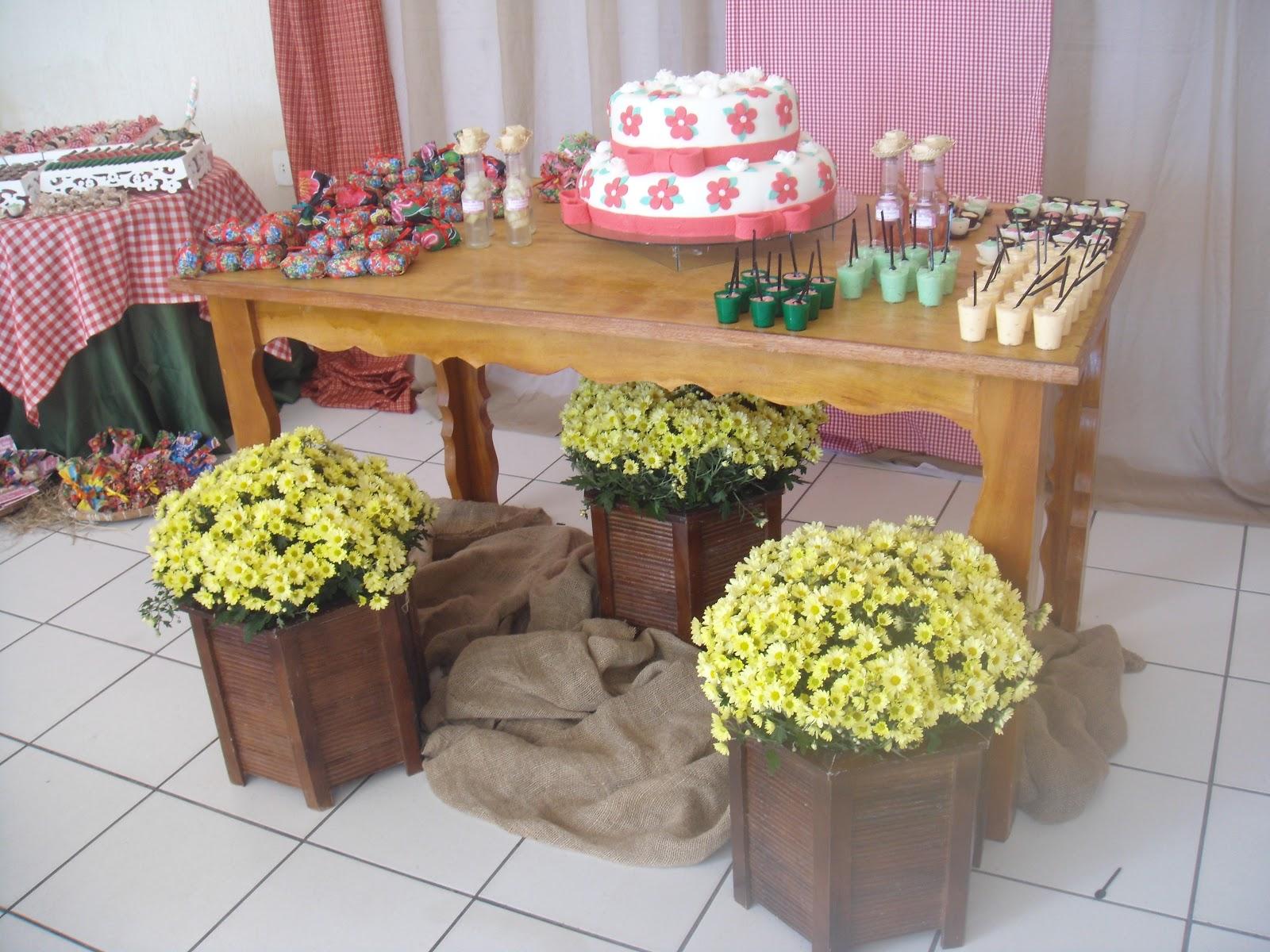 decoracao festa na roca:Embalagem de chita para o bolo prestígio, feito pelo atelier.