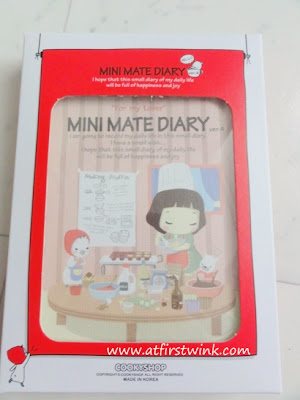 Cookyshop mini mate diary 2013