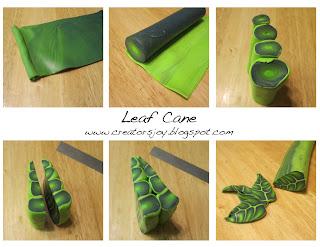 Meg Newberg's Leaf Cane Tutorial