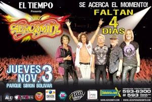 Todo esta listo para el regreso de Aerosmith a Colombia