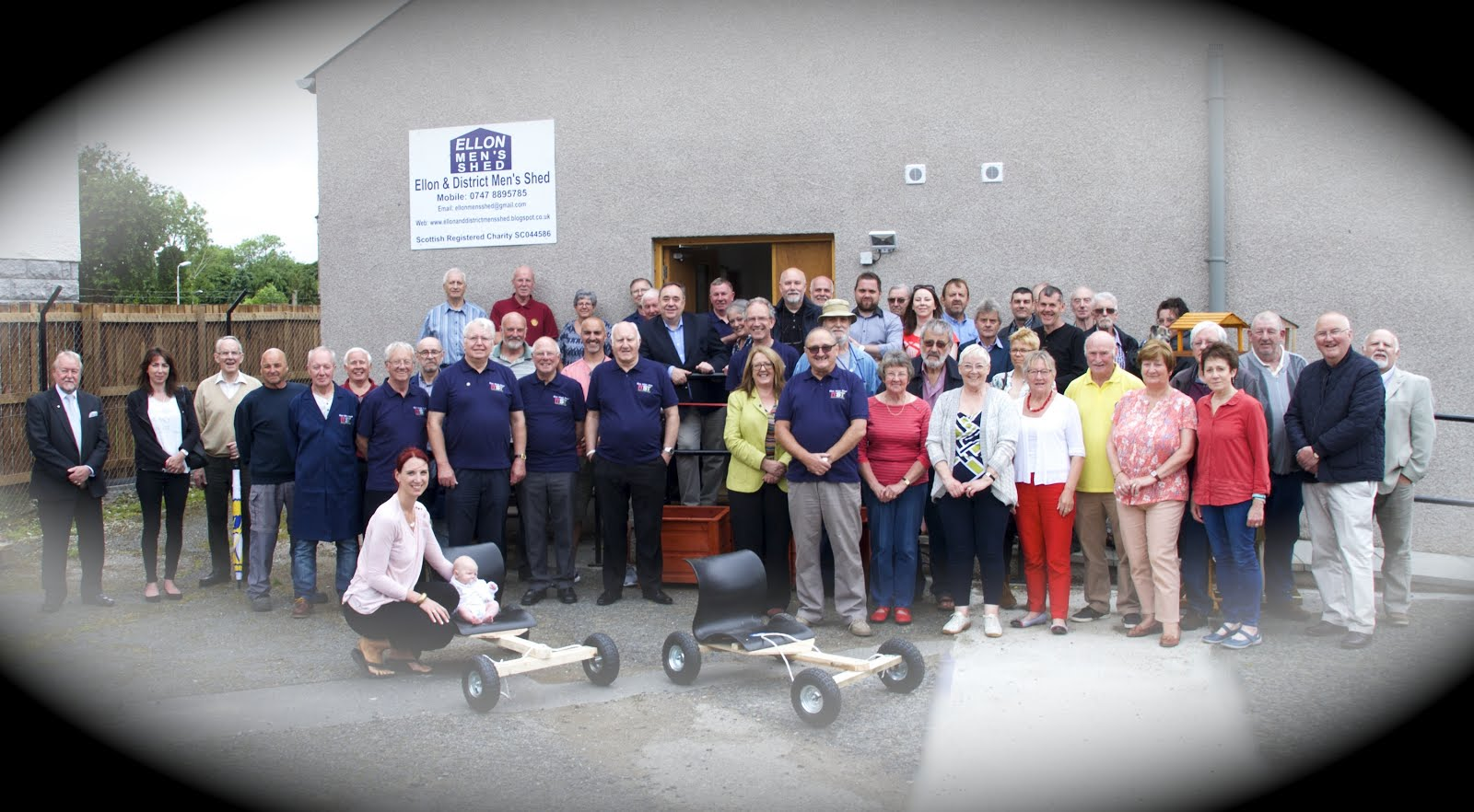 Ellon and District Men's Shed, Hospital Road.