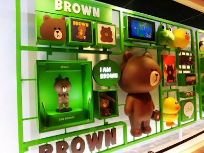 LINE Brown at Taipei Main Station Taiwan