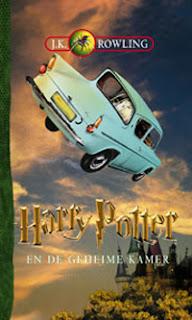 Harry Potter en de geheime kamer J.K. Rowling cover