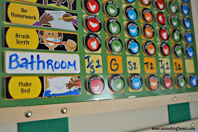 Kids Responsibility Chart