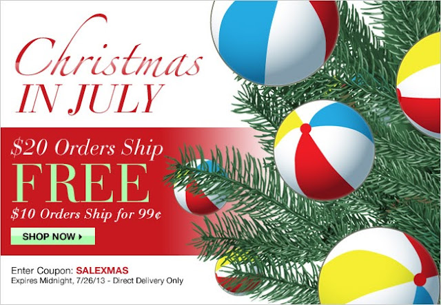 Avon Christmas in July Sale