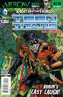 Teen Titans #16 Cover