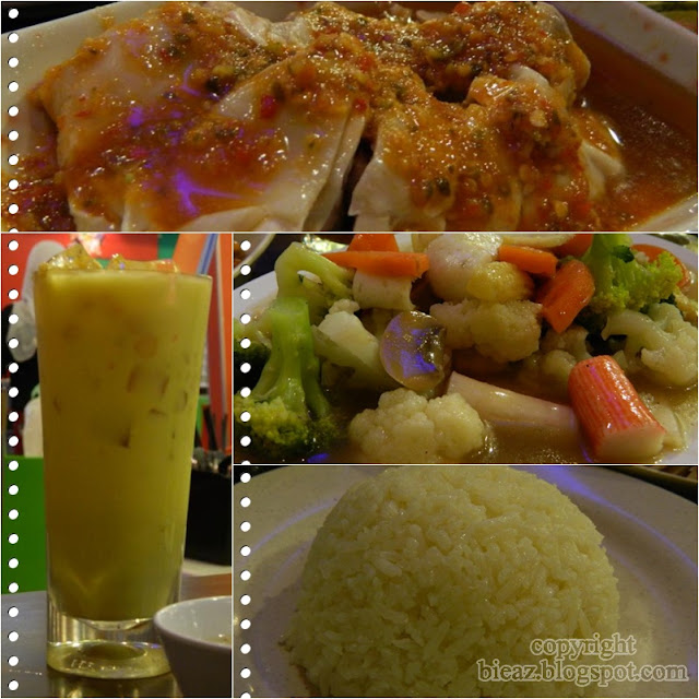 singapore chicken rice gadong