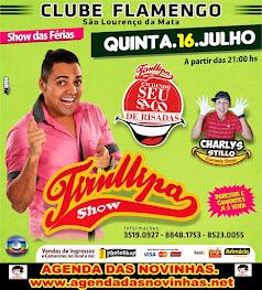 FLAMENGO DE SÃO LOURENÇO - TIRULIPA SHOW.