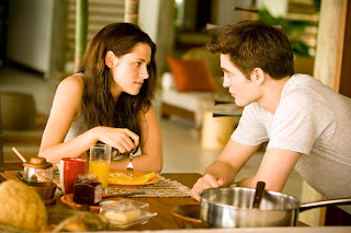Edward and Bella Eating