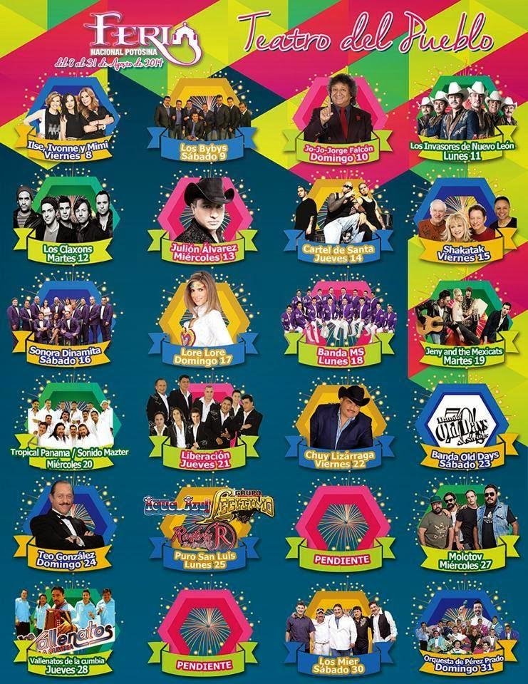 Programa Teatro del Pueblo FENAPO 2014