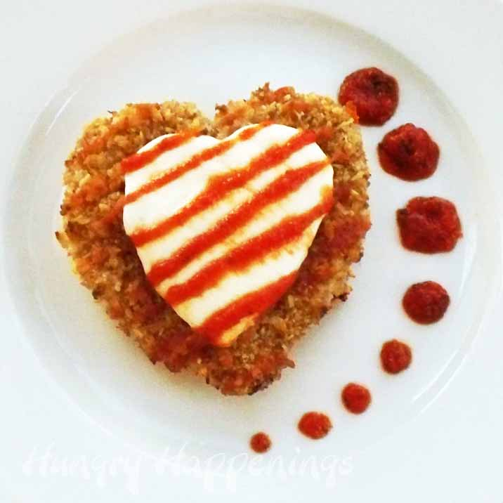 Valentine 39 s day recipe chicken parmesan hearts hungry for Valentine day dinner recipe