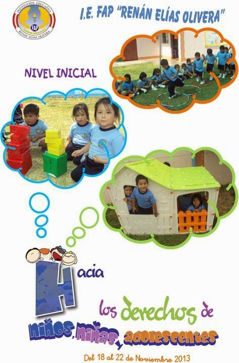 DECLARACIÓN DE LOS DERECHOS DEL NIÑO Y DEL ADOLESCENTE
