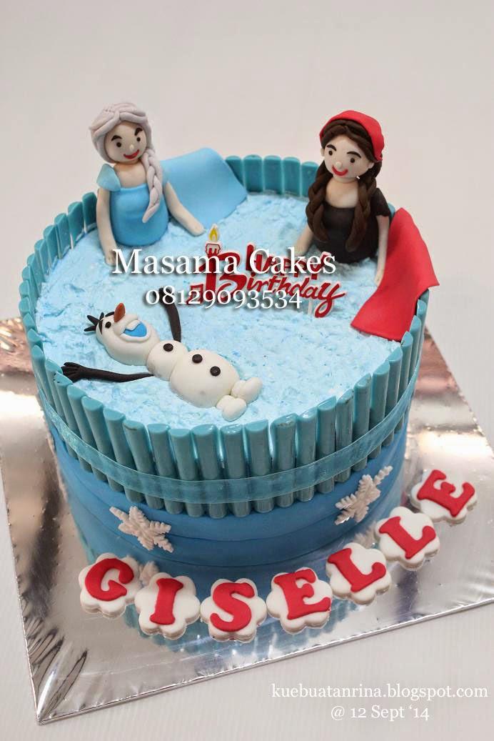Masama Cakes Frozen Birthday Cake For Gisel