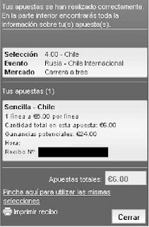 Apuestas Deportivas Rosberg Balonmano–Campeonato del Mundo Rusia Chile Lbapuestas bono