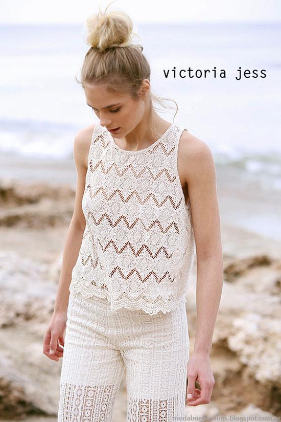 Moda 2016. Victoria Jess primavera verano 2016 ropa de mujer.