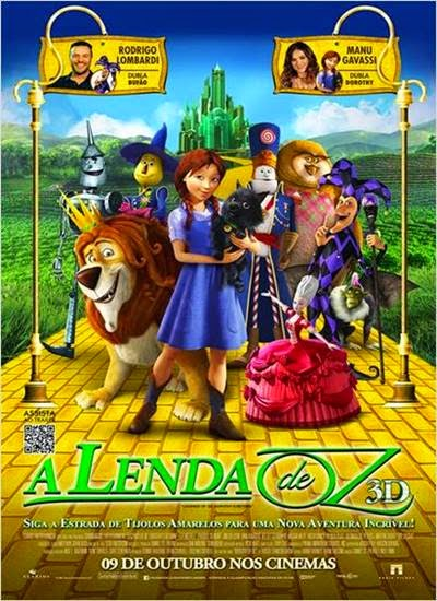 Download A Lenda de Oz AVI Dual Audio + RMVB Dublado R5 Torrent
