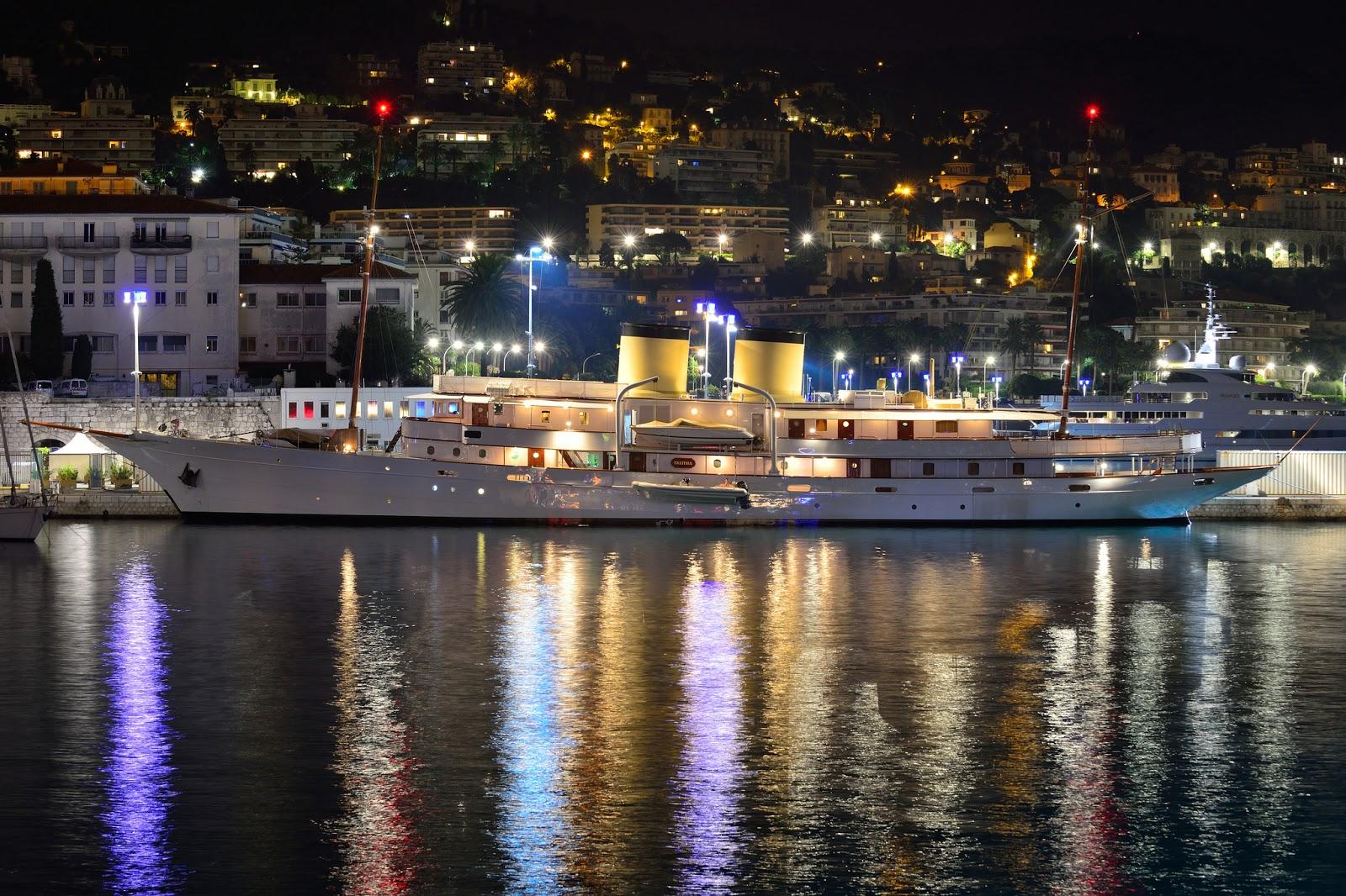 Superyacht TALITHA G Port Side