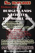 Bis in den Mai kann man sich noch für Burgenlands Nächstes Topmodel 2013 .