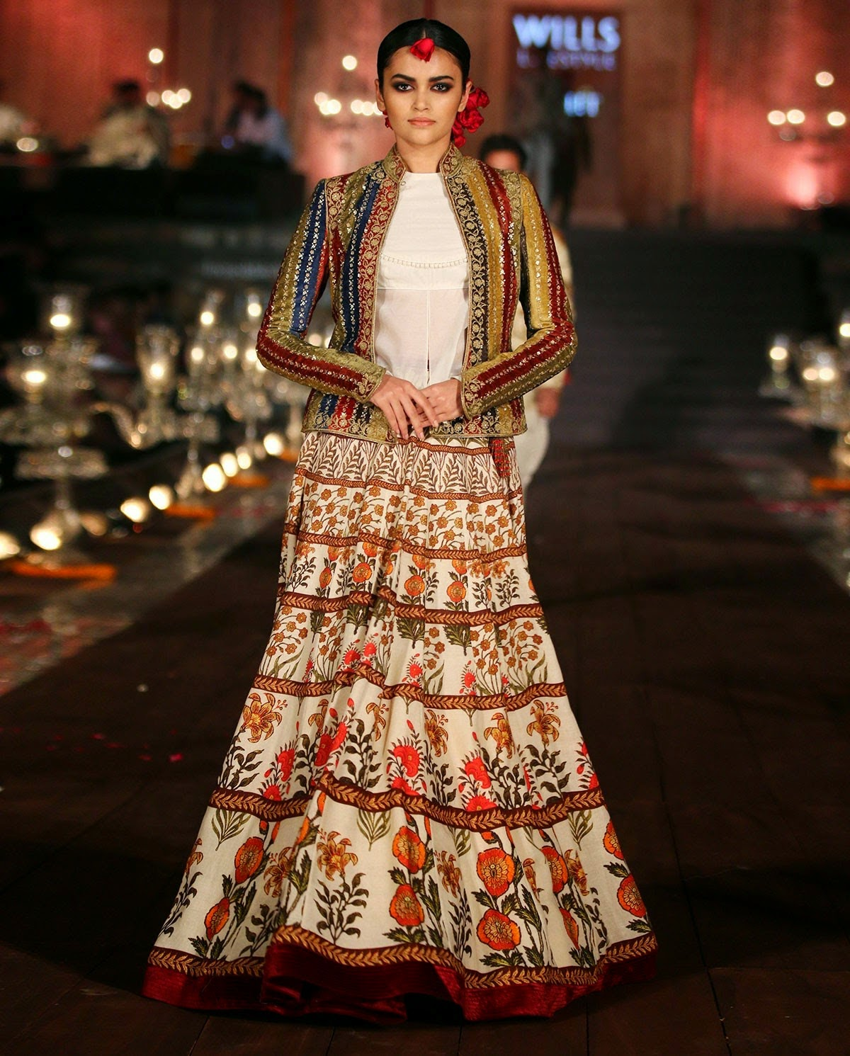 Rohit Bal's Wills SS 15 Gulbagh Collection