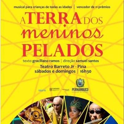 Musical Na Terra Dos Meninos Pelados Est   Em Cartaz No Teatro