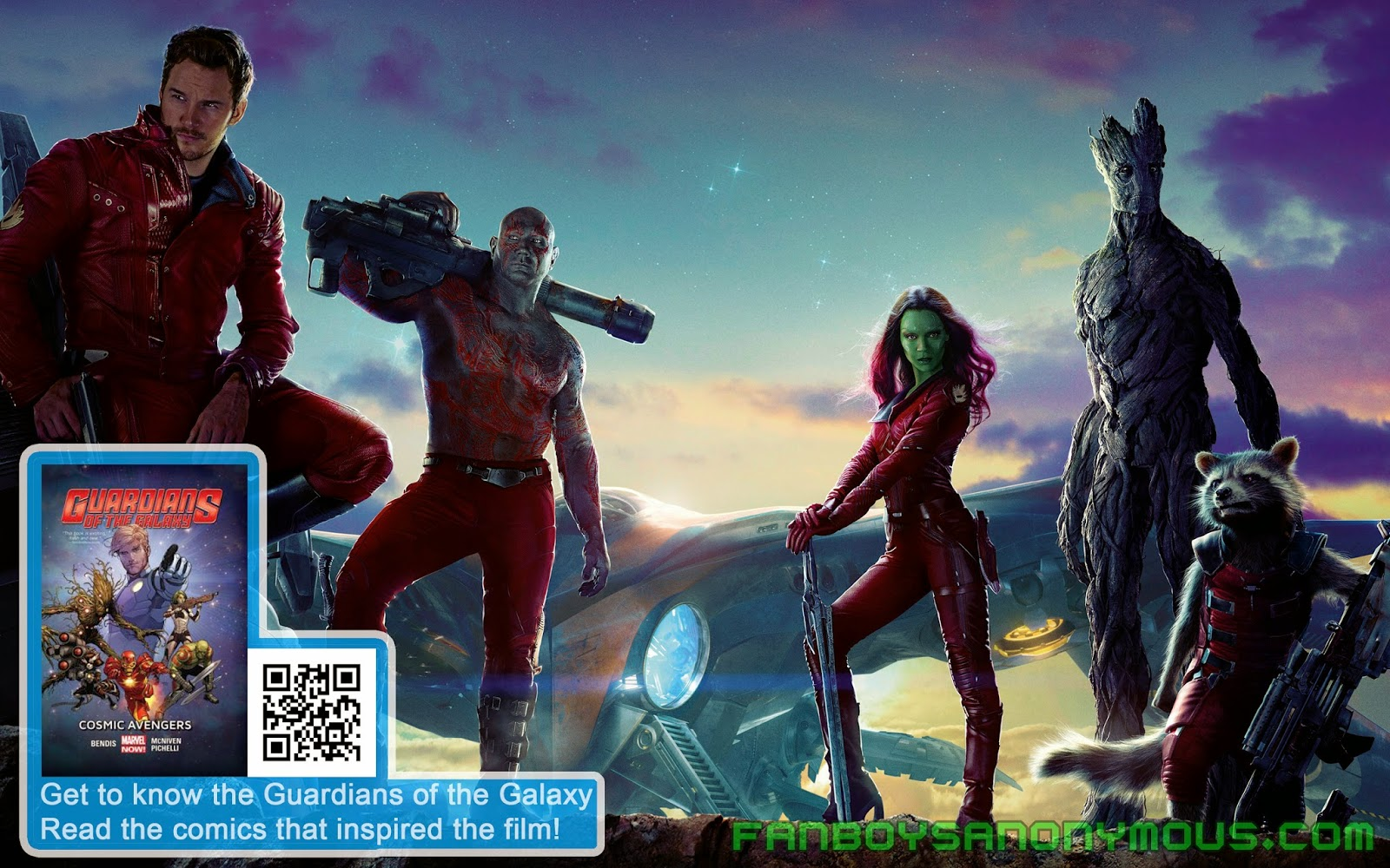 Exclusive Guardians of the Galaxy movie mid-credits and end-credits scenes spoilers on Fanboys Anonymous