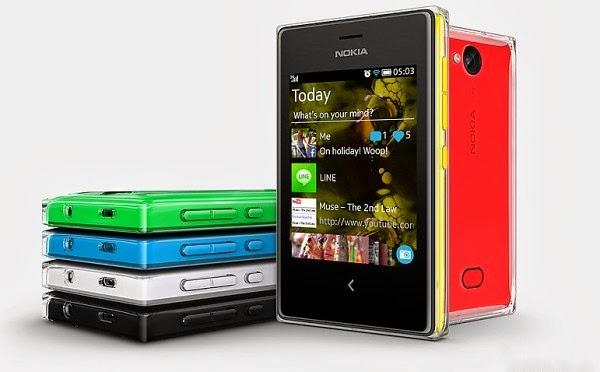 Nokia Asha 502 بشريحتين