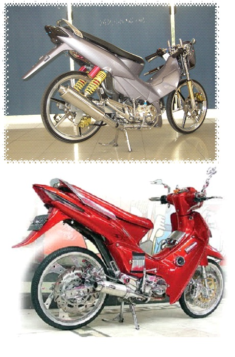 Modifikasi Honda Supra