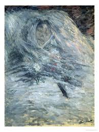 Monet-Camille-deathbed