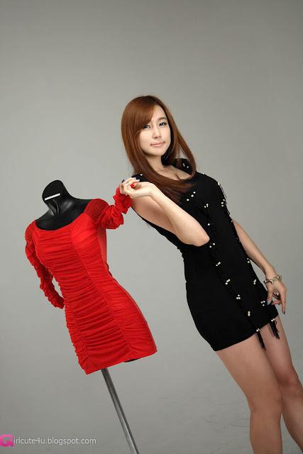 2 Choi Yu Jung in Black-very cute asian girl-girlcute4u.blogspot.com
