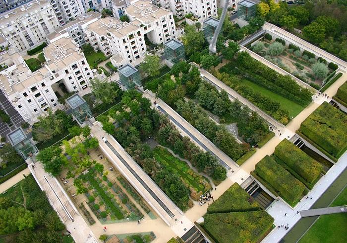 Внутримикрорайонное озеленение