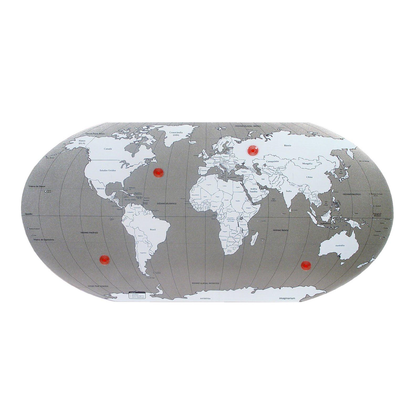 Do rs para o mundo mapa mundi - Mural mapa mundi ...