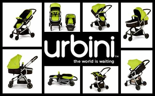Urbini Omni-3-in-1 Stroller