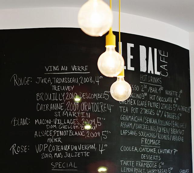le bal café Paris