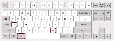 Shortcut key to Merge Column & Row in Table in MS Word
