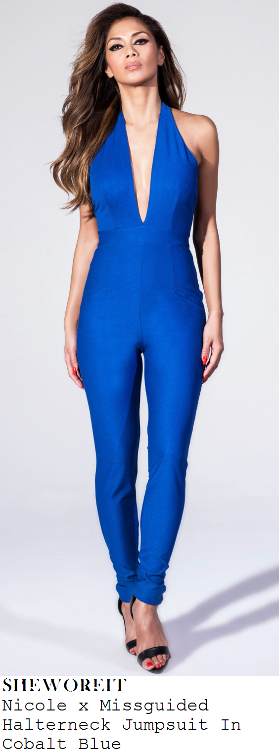 sheworeit: Sam Faiers' Nicole x Missguided Bright Cobalt Electric ...