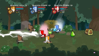 Castle Crashers Gameplay Screenshot