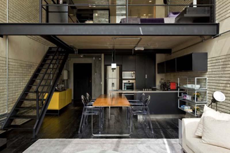 Decoracion Loft Moderno ~ Decoracion moderna Lofts modernos