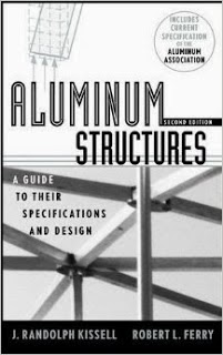 Aluminium Structures-A Guide to Their Specifications and Design by J. Randolph Kissell & Robert L. Ferry