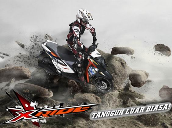 Yamaha X-Ride Motor Adventure title=