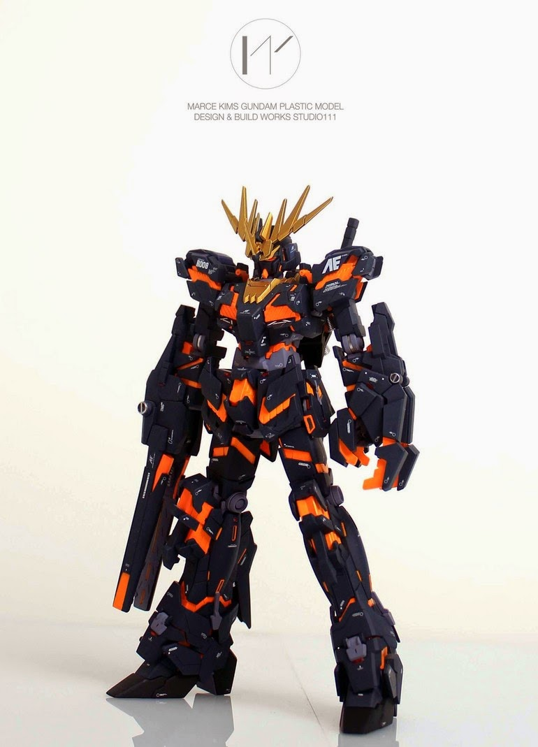 gundam model kit unicorn banshee destroy