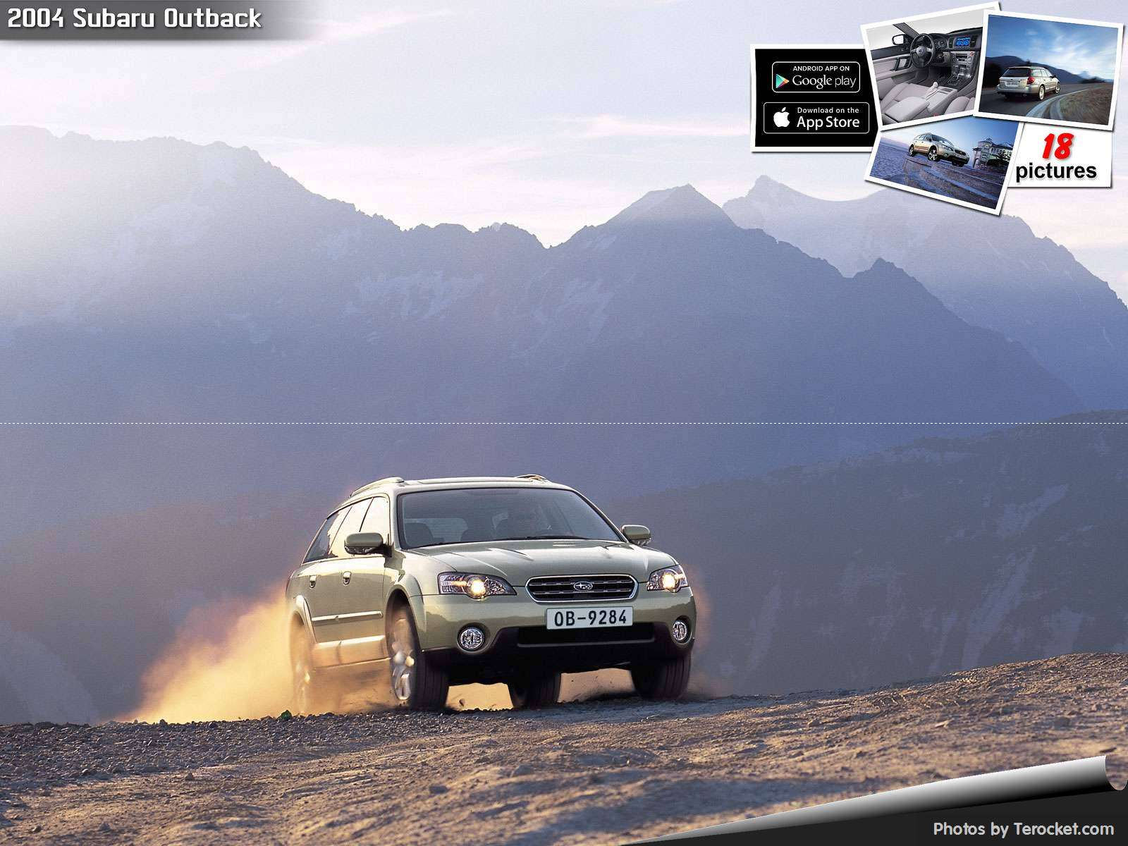 Hình ảnh xe ô tô Subaru Outback 2004 & nội ngoại thất