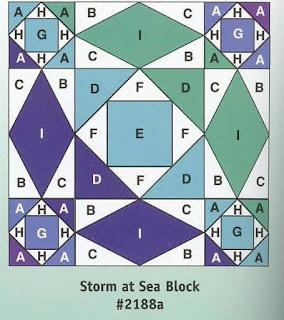 Storm at Sea Block