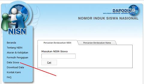 Nomor Induk Siswa Nasional | Mencari dan Melihat NISN di Pusat Layanan NISN