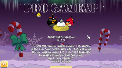 Angry Birds Seasons 3.1.0 Full Serial Number