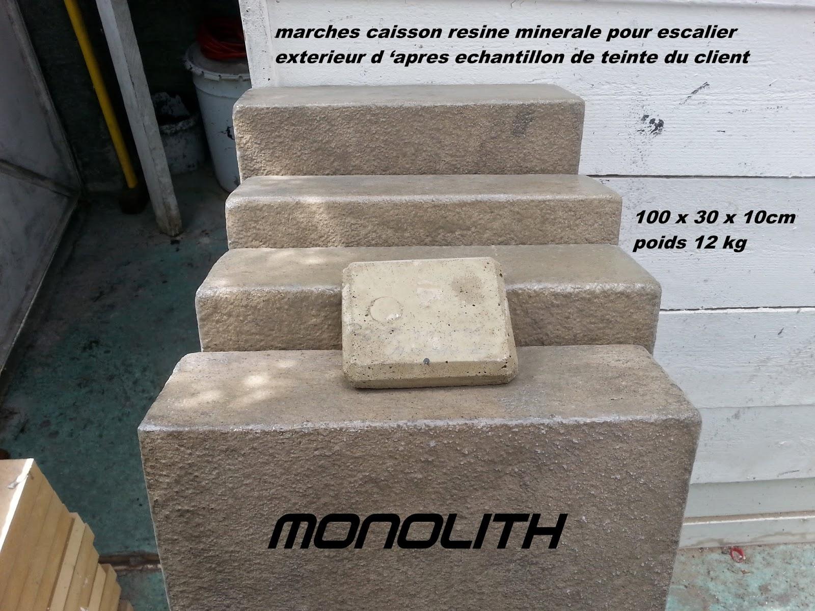Renovation de son escalier en bois ou en beton brut for Marche pour patio