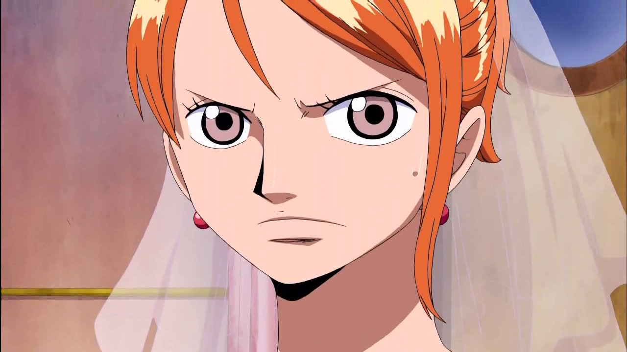 One Piece Escena Del Baño:One Piece Nami