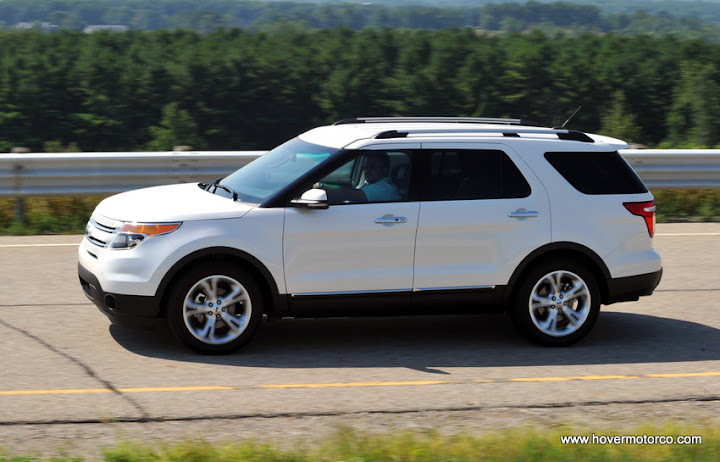 Ford Explorer Ecoboost And  Ford Edge Ecoboost Test Drive Review